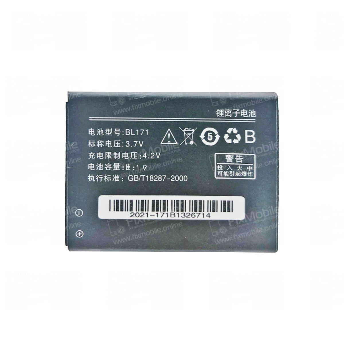 Аккумуляторная батарея для Lenovo A390 BL171