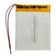 Аккумуляторная батарея универсальная 305070p 3,7V 2200 mAh 305070p (3*50*70 мм)